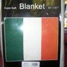 "Irish Flag Blanket Super soft 50"" x 60"""