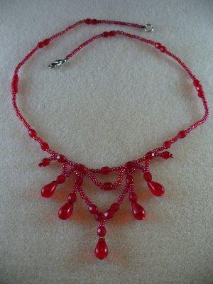 Teardrop Lace Necklace