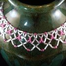 Swarovski Lace Necklace