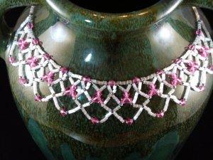 Swarovski Lace Necklace