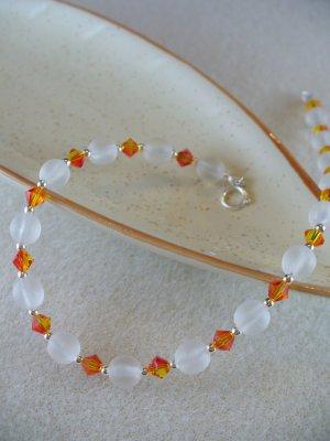 Frosted Elegance Bracelet