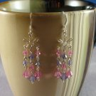 Swarovski Crystal Star Chandelier Earrings