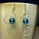 Sterling Silver Freeform Dangle w/ Bead Connector