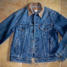 vintage levi's jean jacket size 42 distressed