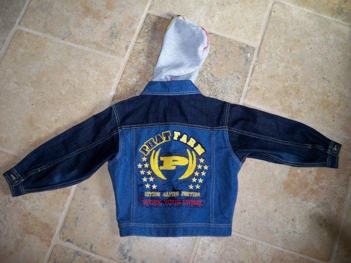 Boys Phat Farm jean jacket size 6