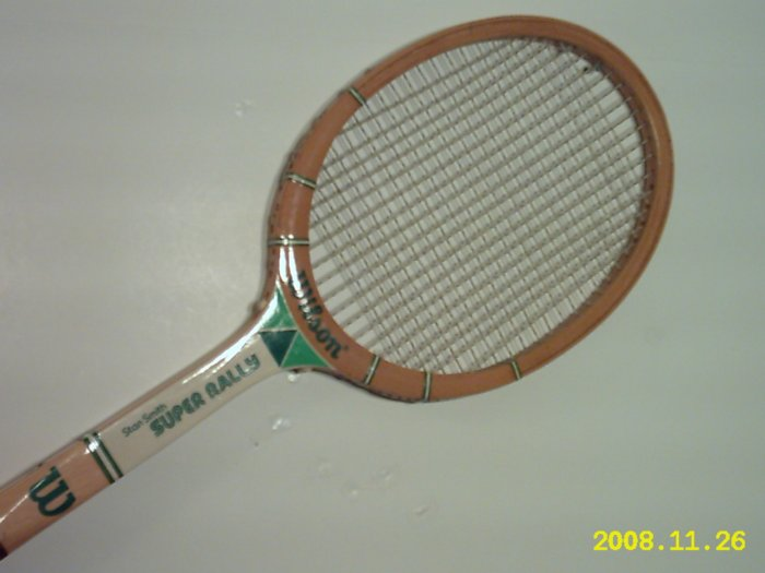 Wilson Stan Smith Super RallyWood Tennis Racquet 4 1/2 L (SN WIW25)