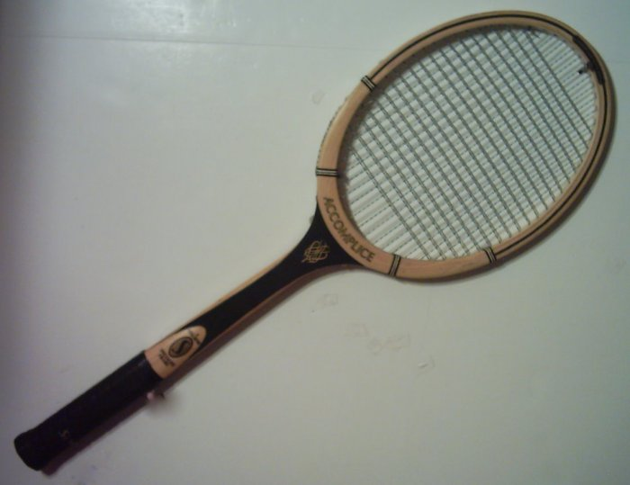Spalding Accomplice Wood Tennis Racquet 4 1/2