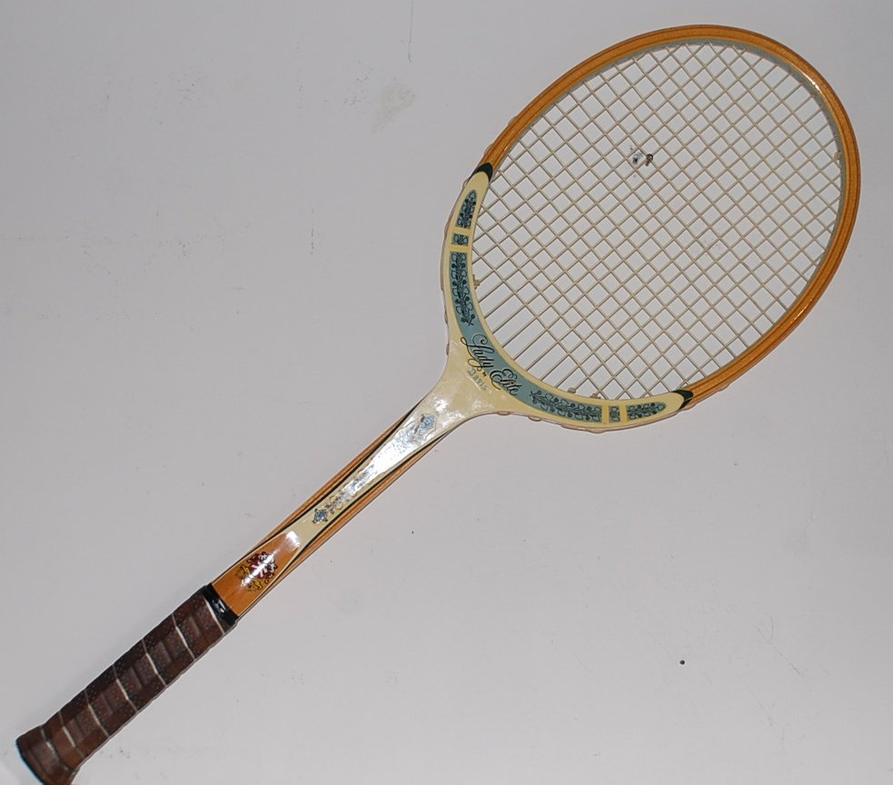 Tad Davis Lady Elite Wood Vintage Tennis Racquet 4-3/8 L TAD11