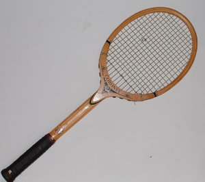 Tad Davis Coronet Wood Vintage Tennis Racquet 4 1/2 L (TAD15)