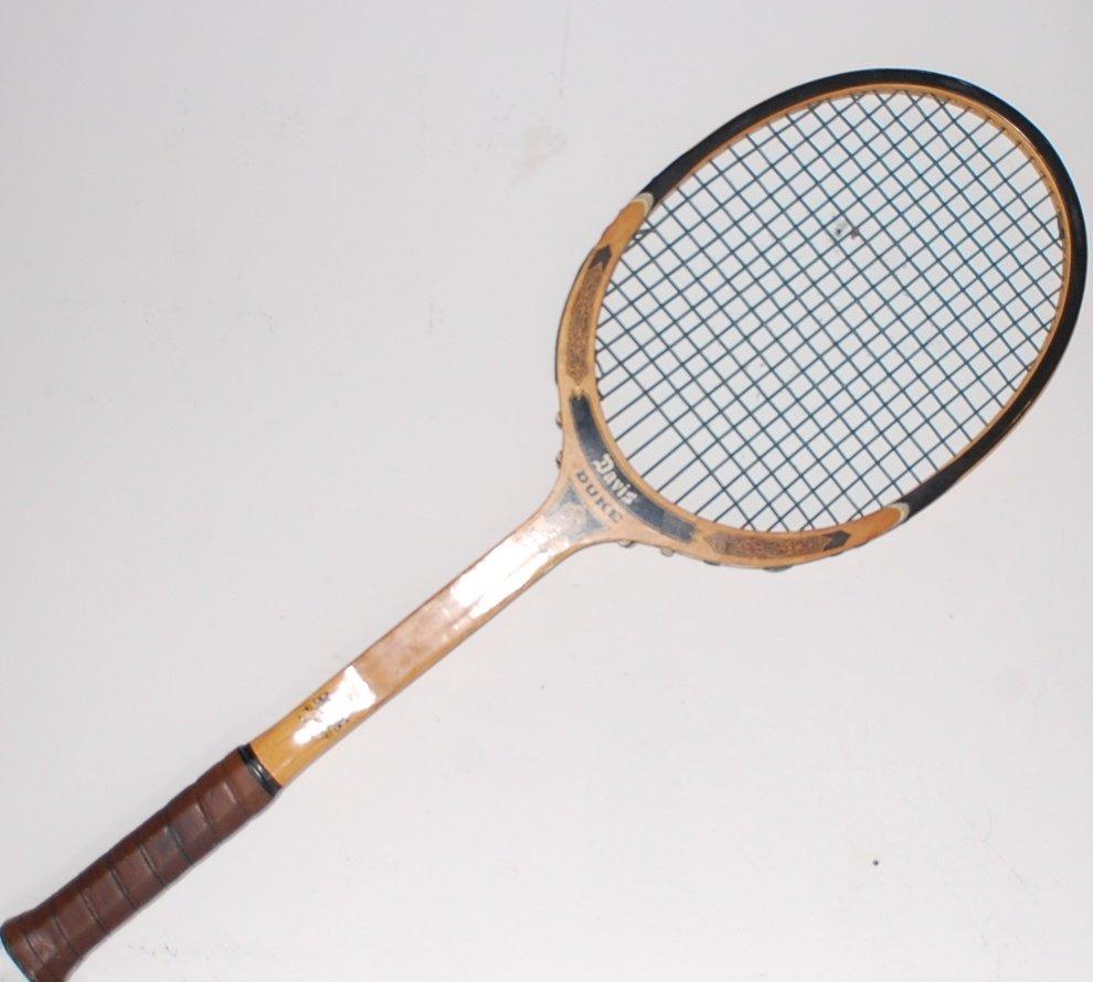 Tad Davis Duke Wood Vintage Tennis Racquet 4 1/2 M (TAD01)