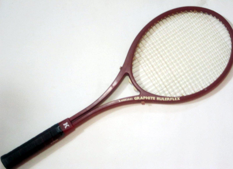 Kawasaki Graphite Rulerflex Tennis Raquet (KAG03)