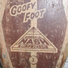 RARE 1960's GOOFY FOOT 7 Nash Sidewalk Surfboard Wood Skateboard