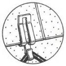 Asphalt Roof Clips (bag of 25)