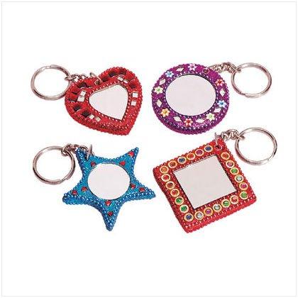 Dazzling Mirrior Keychains
