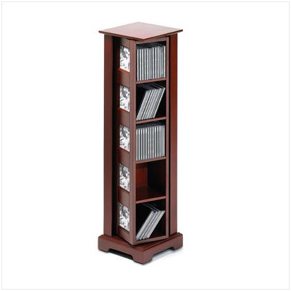Spinning Photo frame CD Tower