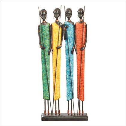 African Village Women figurine