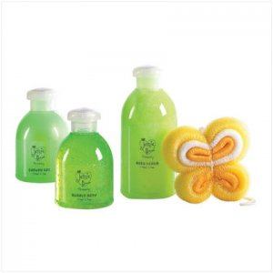Green Apple Scented Bath Set