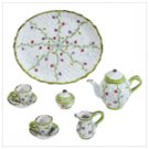Spring Green Miniature Tea Set