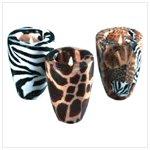Safari Pattern Vase Candles