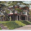 Vintage Postcard Newton Centre MA S.F. Smith's House UND