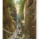Vintage Postcard NH The Flume Franconia White Mountains