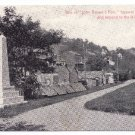 1908 Gathland Park MD John Browns Fort War Tablets Vintage Postcard