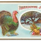 Vintage Thanksgiving Postcard turkey 1911