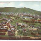 Mauch Chunk Pa Birds Eye View Vintage Postcard 1908