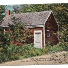 Little Red School House Jaffrey NH Vintage Postcard