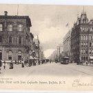 Buffalo NY Main Street Rotograph 1905 UND Lithograph