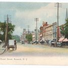 Norwich NY Broad Street Rotograph 1906 UND Lithograph