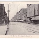 Elmira NY East Water St Looking West 1906 UND