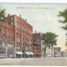 Utica NY Genesee St and City Hall UND Unused