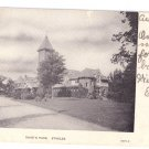 Duke's Park Coach Barn Stable Somerville NJ 1906 UND Vintage Postcard