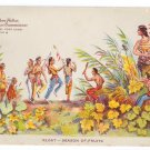 Hudson Fulton 1909 Season of Fruits Float Official Card no. 9 Redfield