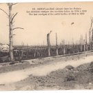 WWI 1918 Berry-au-bac France vestiges of battles 1914 to 1918
