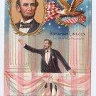 Abraham Lincoln Centennial Nash 1908 Vintage Patriotic Postcard