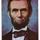 Abraham Lincoln Portrait Patriotic Postcard