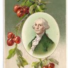George Washington Father of His Country Vintage Patriotic Postcard