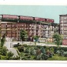 The Elevated Train New York ca 1908 Photostint NM Vintage Postcard