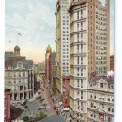 Park Row New York ca 1910 Leighton NM Vintage Postcard