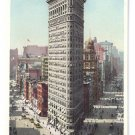 Flat Iron Building New York ca 1910 Photostint NM Vintage Postcard