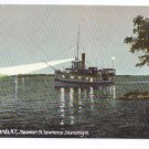 Steamer St. Lawrence Searchlight Thousand Islands NY ca 1910 Leighton Vintage Postcard