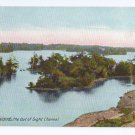 Out of Sight Channel Thousand Islands NY ca 1910 Leighton NM Postcard