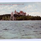 Heart Island Thousand Islands NY Boldt Castle ca 1910 Otis NM Postcard