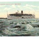 Rapids King Lachine Rapids Montreal ca 1910 Vintage Postcard