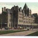Place Viger Hotel Station Montreal ca 1910 Vintage Postcard