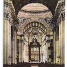 St James Church Interior Montreal Canada ca 1910 Vintage Postcard
