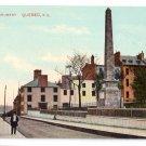 Montcalm Monument Quebec Canada c 1910 Vintage Postcard