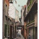 Sous le Cap Street Quebec Canada c 1910 Vintage Postcard NM